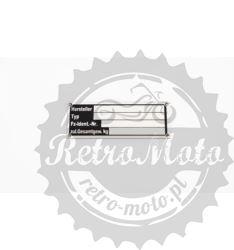 Tabliczka znamionowa BMW R25 / R26/ R27