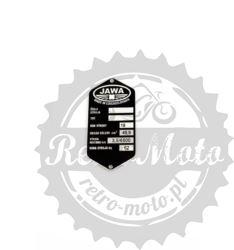 Tabliczka znamionowa JAWA Motorwer do 50 ccm3