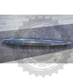 Tłumik końcowy wydech typu cygaro chrom Junak M10