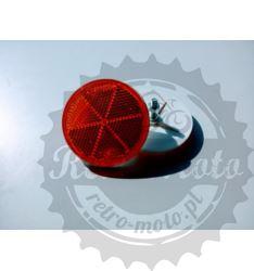Odblask POMARAŃCŻ fi60 okrągły z śrubką HOMOL. E20